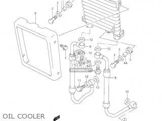 Hose, Oil Cooler, R photo