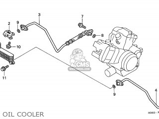STAY A,OIL COOLER