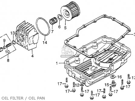 oil filter oil pan_mediumhu0191e4d13_85eb honda cb650sc '83 nighthawk 650 1983 parts in stock Honda Nighthawk 450 Wiring-Diagram at gsmx.co