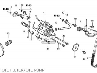 CHAIN,OIL PUMP DR