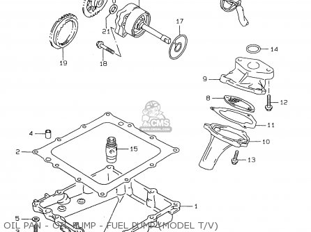 Oil Pan Oil Pump Fuel Pump Model Tv Mediumsue Fig Aff on Wiring Diagram Besides Yamaha In Addition 1992