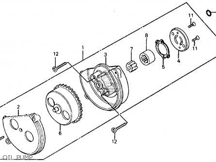 Honda Trx200 84 Trx200 1984 Parts