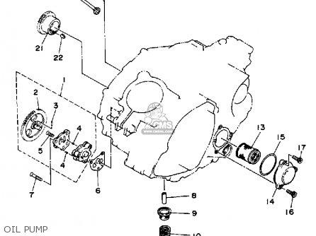 Yamaha 1986 Xt350s Xt350 Dual Purpose Motorcycle Parts