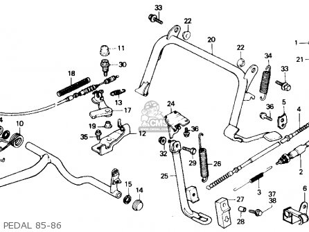 Honda Xrm 110 Engine Diagram additionally Honda Cg 125 Wiring Diagram furthermore  on honda xrm 110 electrical wiring diagram