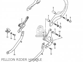 Handle, Pillion Rider photo
