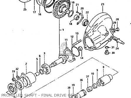 Gear/case Set, Final Bevel photo