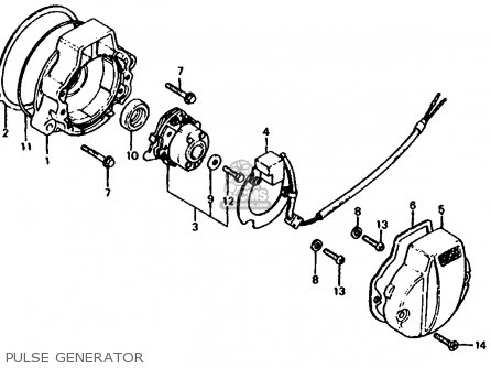 (12339KT0711) GASKET,PULSE GEN