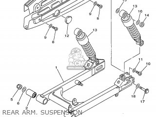 (4STF211000) REAR ARM COMP