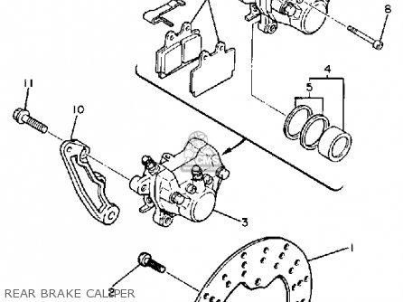 Yamaha 1988 Fzr400u Fzr400 Street Motorcycle Parts