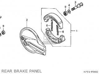 ARM,REAR BRAKE