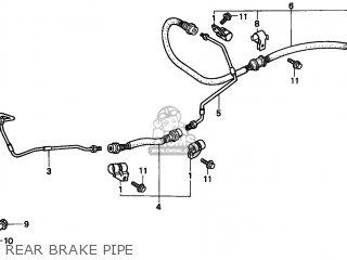 PIPE B,RR BRAKE