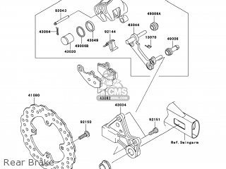 Caliper-sub-assy, Rr, B photo
