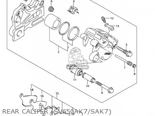 Caliper Assy, Re photo