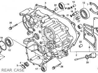 (21100MCA780) CASE ASSY,REAR