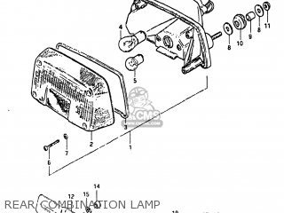 Lamp Assembly, Rear Combination photo