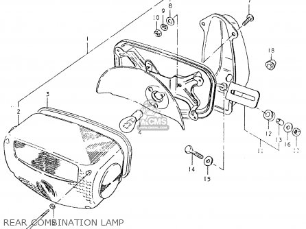 Lens, Rear Combination Lamp photo