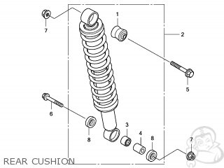 CUSHION ASSY,RR