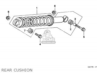 CUSHION ASSY.REAR
