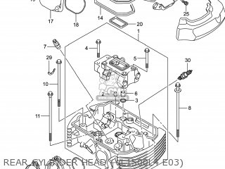 Head Assy, Cylinder Rr photo