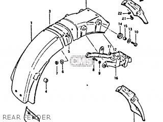 Reinforcement, Rear Fender photo