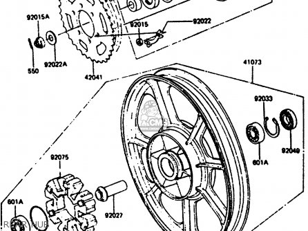 Wheel-assy, Rr, Solid, M photo