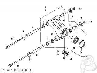 KNUCKLE ASSY,R RE
