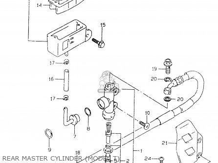 Cylinder Assy, Rr Master photo