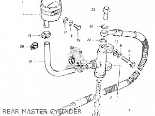 Cylinder Assembly, Rear Master photo