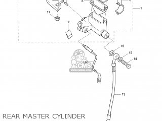 MASTER CYLINDER ASSY
