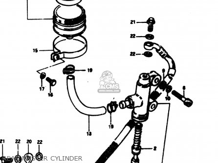 Cylinder Assy, Rear Master photo