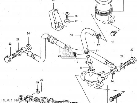 Guide, Rr Brake Hose photo