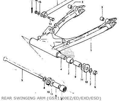 Shaft, Rear Swing Arm photo