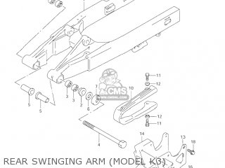 Swingingarm Assy, Rr photo