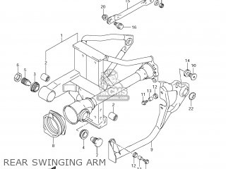 Swingingarm Set, Rr photo