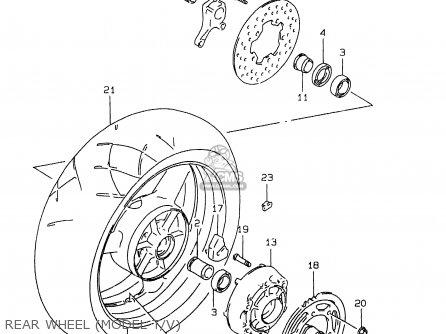 Wheel, Rear (17xmt6.00)(w photo