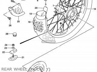 Rim, Rr Wheel(2.15x19 Al.) photo