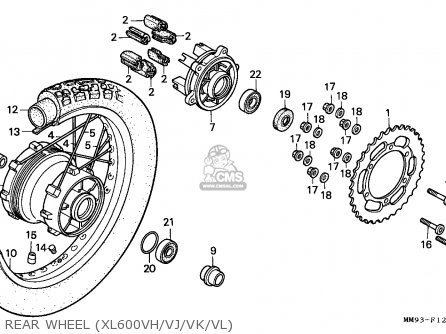 Rim, Rear Wheel photo