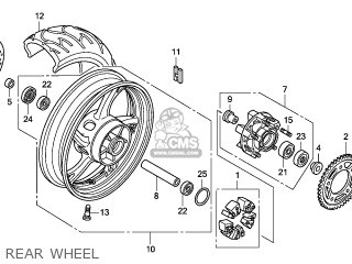 Wheel Sub Assy, Rr photo