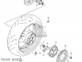 Wheel, Rr(17m/cxmt5.50) photo