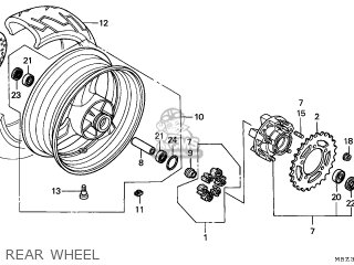 WASHER,RR.AXLE