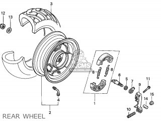 (42650GEZ672ZA) WHEEL SET*NH303M*