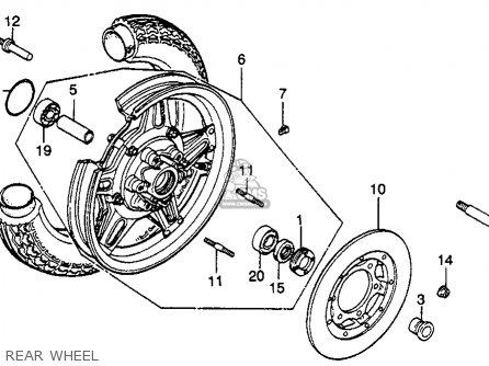 Wheel Comp, Rr photo