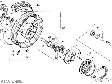 DAMPER,RR.WHEEL
