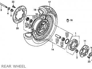 Rim, Rr Wheel photo