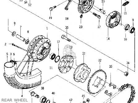 COLLAR, SPROCKET SHAFT (162-25386-00)