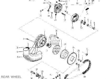 GEAR, SPROCKET WHEEL (70T)