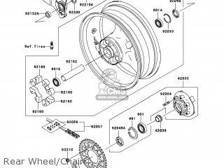 Wheel-assy, Rr, Black photo