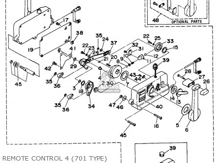 Yamaha 701 Wiring Diagram