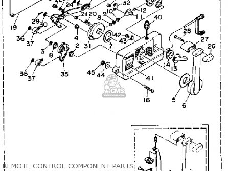 Yamaha Outboard Engine Controls furthermore Honda 4 Stroke Outboard Diagrams likewise Mercury Outboard Ignition Wiring Diagram Wedocable further Wiring Diagram Additionally Yamaha Ignition Switch On furthermore Omc Tach Wiring Diagram. on yamaha 703 remote control wiring diagram