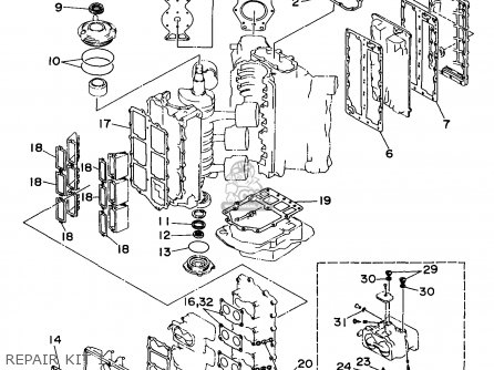 Gasket Kit, Power Unit photo